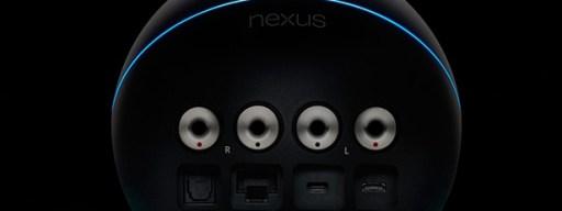 Nexus Q back