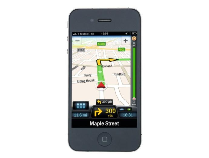 CoPilot Live Premium on iPhone