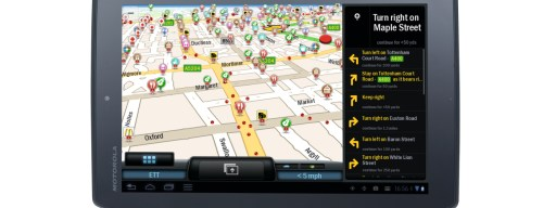CoPilot Live Premium on Android tablet