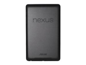 Nexus 7 rear