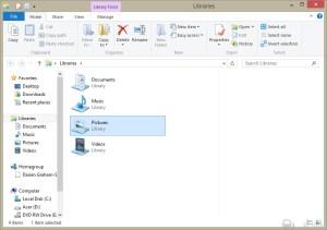 Windows 8 - Explorer