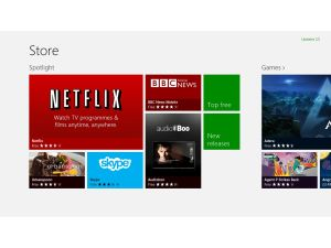 Microsoft Surface RT - Windows Store
