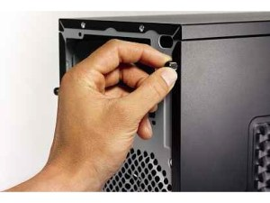 How to take a PC case apart