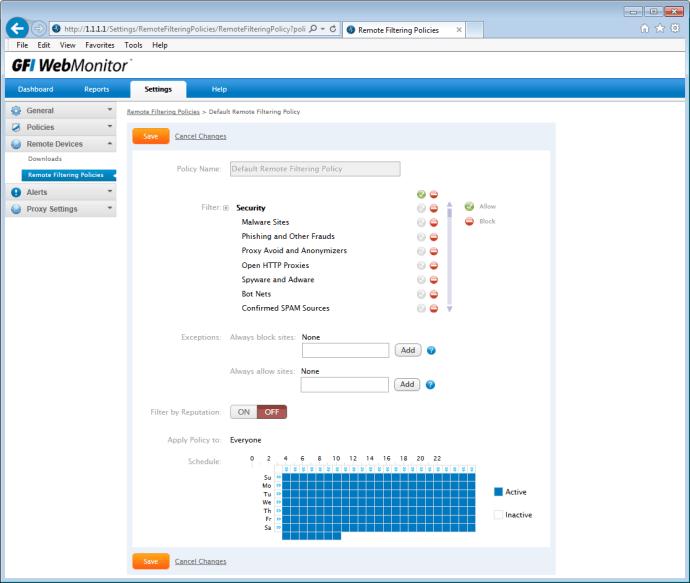 GFI WebMonitor 2013 UnifiedProtection