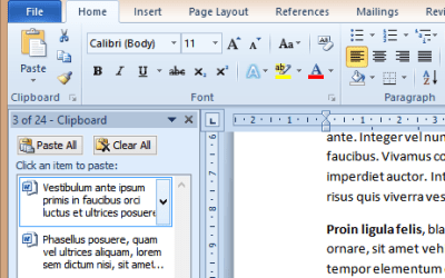 Microsoft Word: top 20 secret features