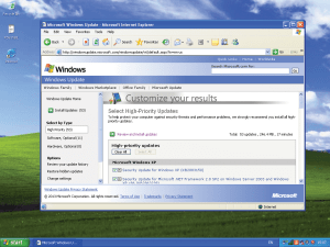 Windows updates for XP will soon be ending