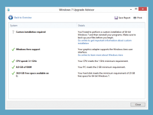 It's still possible to upgrade to Windows 7, if you can get hold of the installation media