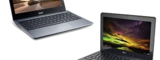 Acer Aspire C720 vs Dell Chromebook 11 Design and Build Quality