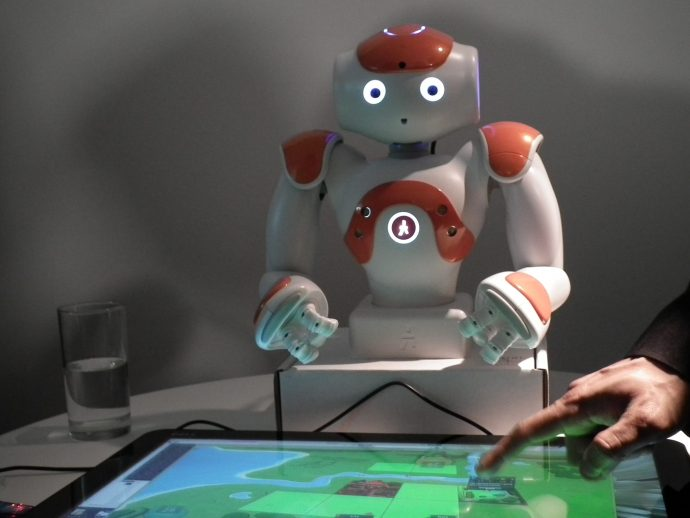 NAO teacher bot