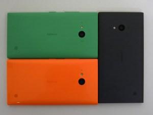 Nokia Lumia 730 and Nokia Lumia 735