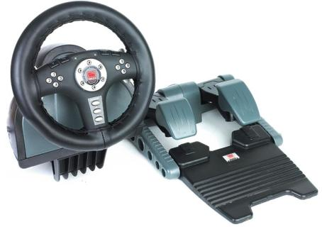 Speed-Link Leather Force Feedback Wheel (SL-6695) review
