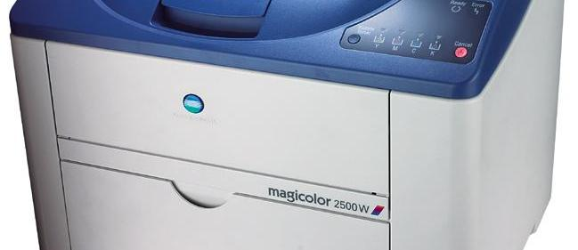Konica Minolta magicolor 2500W review