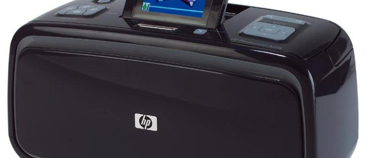 HP Photosmart A618 review