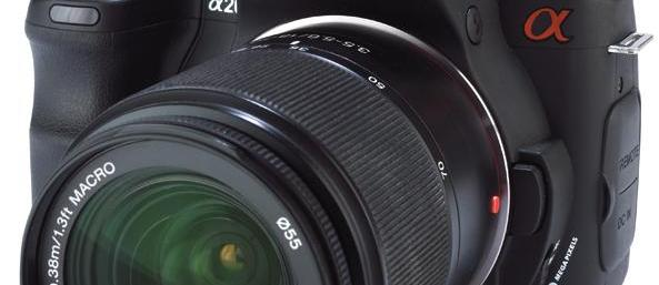 Sony Alpha A200 review