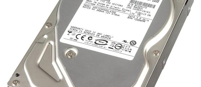 Hitachi Deskstar P7K500 (500GB) review