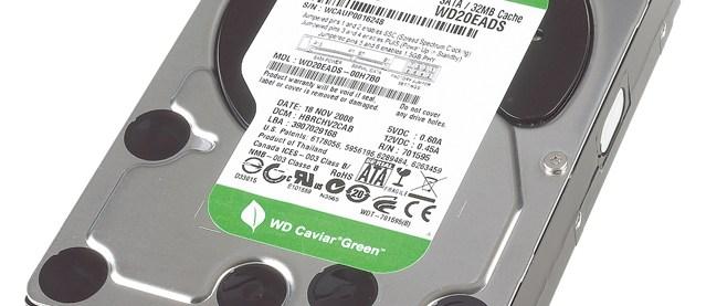 Western Digital Caviar Green (2TB) review