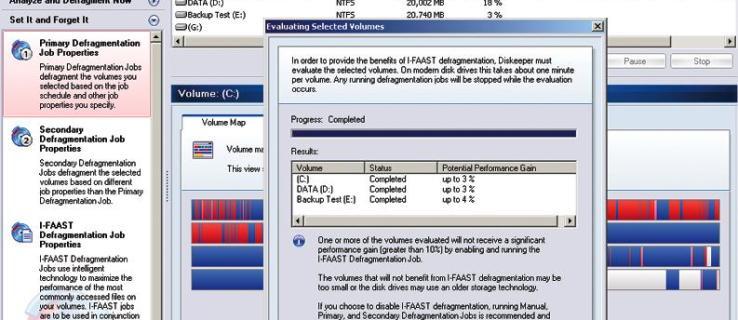 Revisión de Diskeeper 10 Server Enterprise