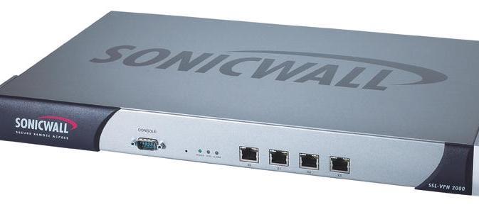 SonicWALL SSL-VPN 2000 review