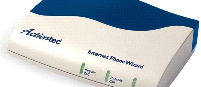 Actiontec Internet Phone Wizard review