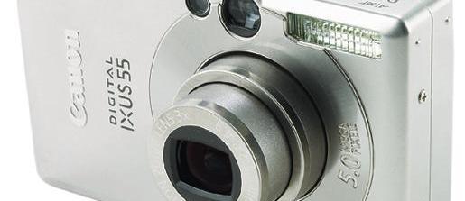 Canon Digital IXUS 55 review