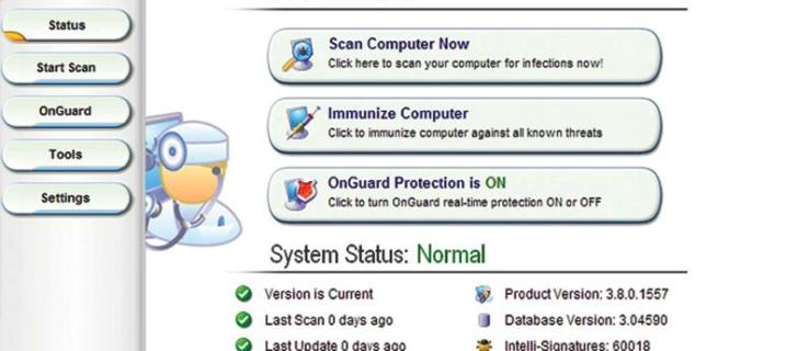 PC Tools Spyware Doctor 3.8 review