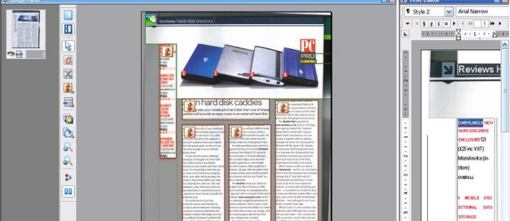 ScanSoft OmniPage 4 SE review