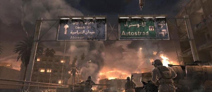 Call of Duty 4: Modern Warfare review