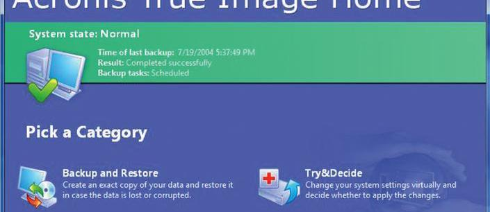 Acronis True Image 11 Home review