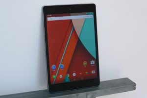 Nexus 9 - with Android 5 (Lollipop)
