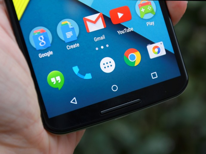 Nexus 6 review - the screen