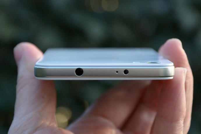 Huawei Honor 6 review - top edge