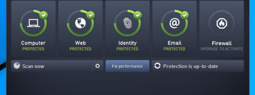 AVG Antivirus Free (2015) review - main interface
