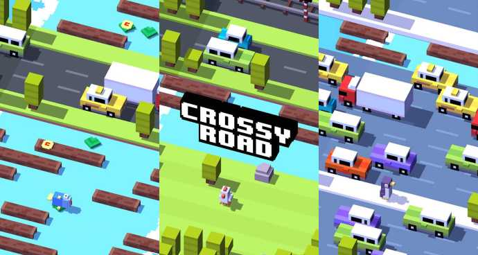 Crossy Road Best Android App 2015