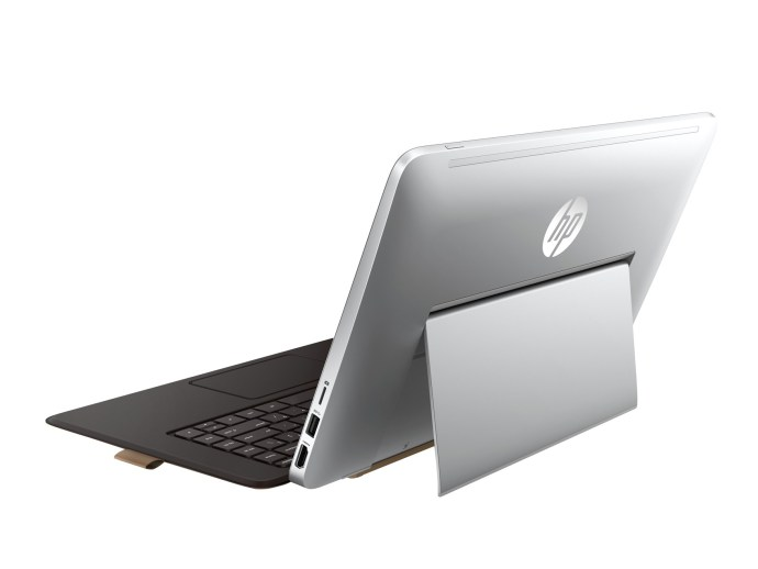 HP Envy X2 13 - tablet and keyboard rear view