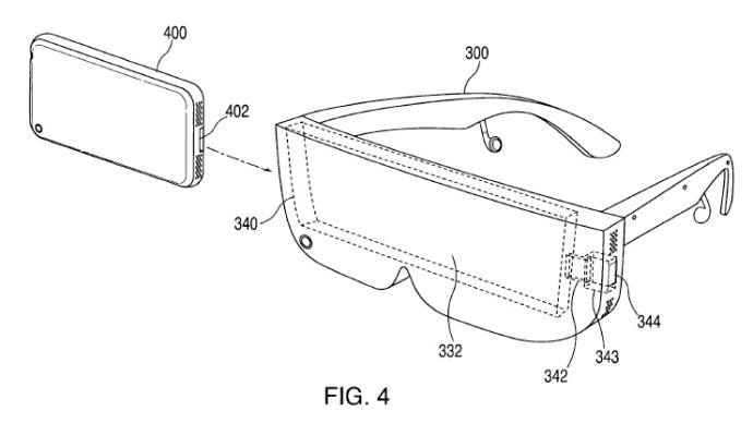 Apple Vr Headset phone insert