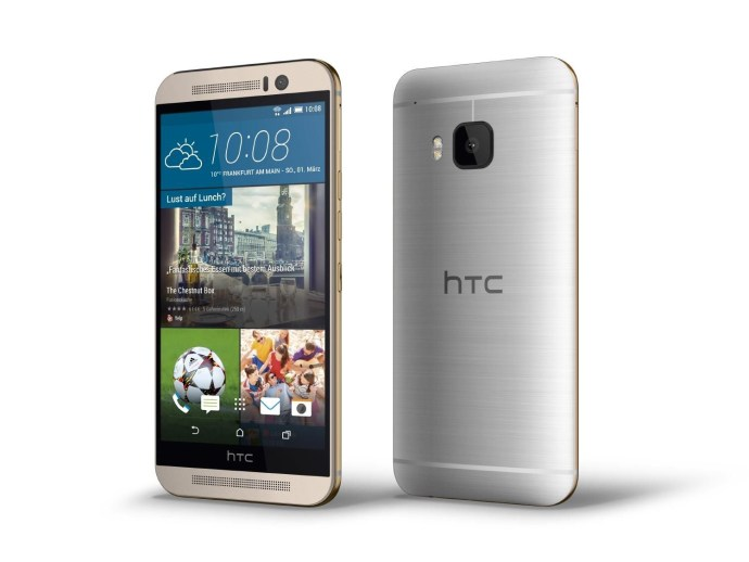 HTC One M9 Release date - thumb