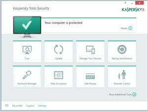 Kaspersky Total Security Multi-Device - Main