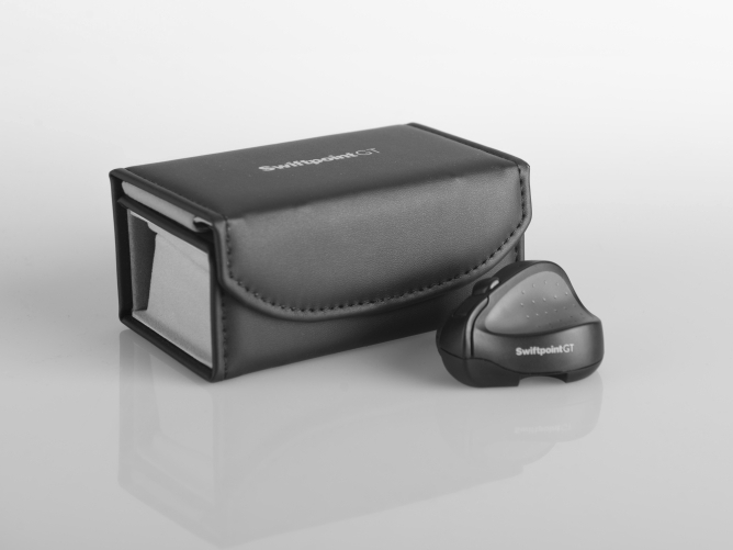 Swiftpoint GT review - with soft case