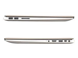 Asus Zenbook UX303LA - sides