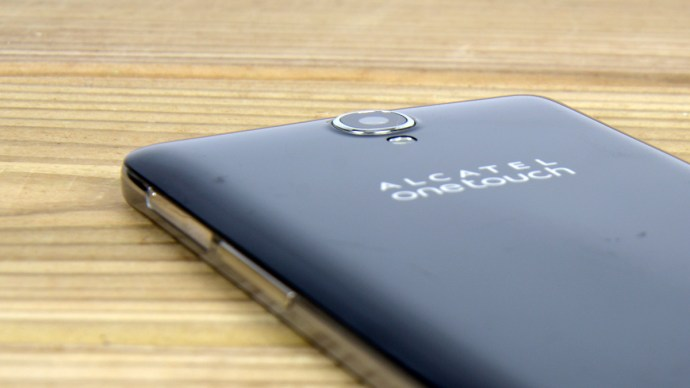 Alcatel Onetouch Idol X+ review - Camera close up