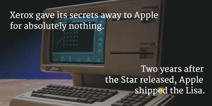 Los 5 avances tecnológicos más importantes que probablemente no conoces - Apple Lisa