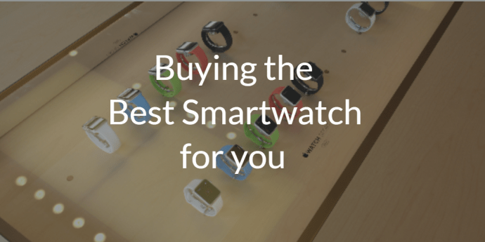 The Best Smartwatches 2015 - buying guide