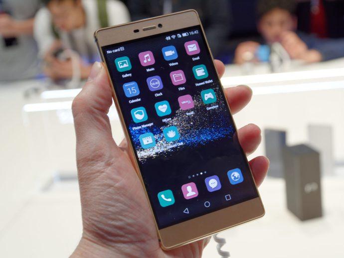 Huawei Ascend P8 review - main shot