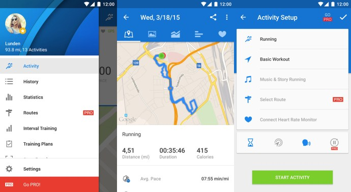 Best Android Apps 2015 - Runtastic