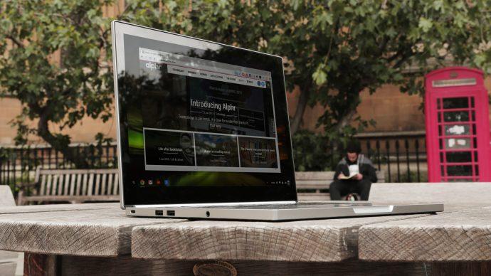 Google Chromebook Pixel review: Main shot