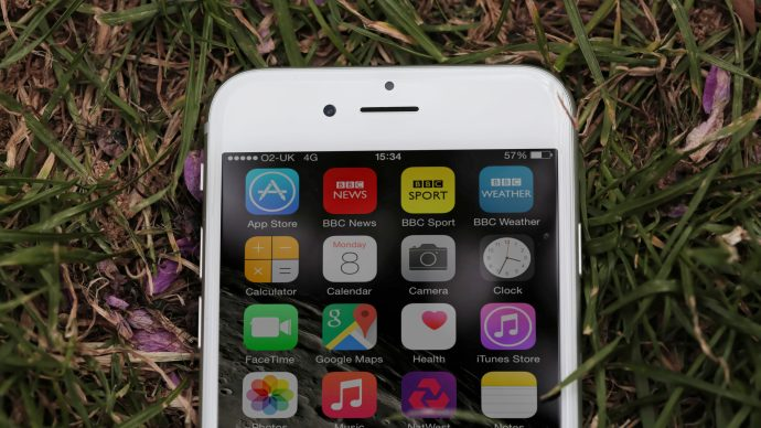 Apple iPhone 6 review: Top half of front