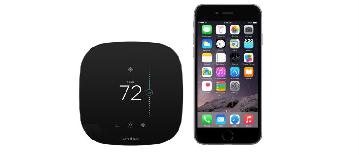 Apple sells Ecobee3: the first HomeKit-enable smart thermostat