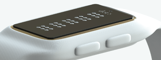 dot smartwatch for the blind