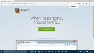 Download the browser you'd like to use