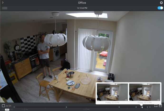 Nest Cam review: Screenshot